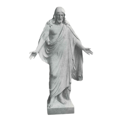 Thorwaldsens Christ Granite Statue