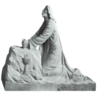 Jesus In Gethsemane Marble Statue