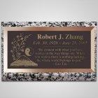 Ying Yang Bronze Plaque