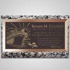 Cruise Bronze Plaque