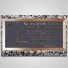 Sailing Bronze Plaque