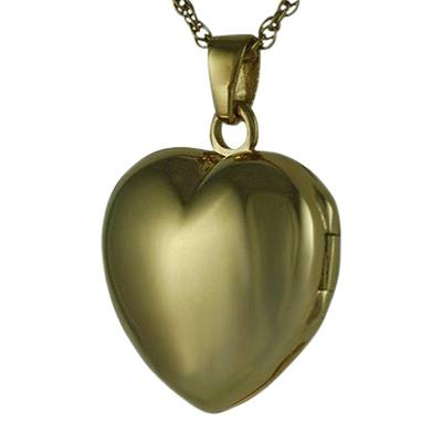 Heart Locket Picture Keepsake Pendant IV