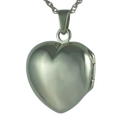Heart Locket Picture Keepsake Pendant