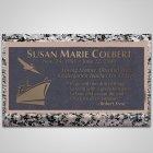 Pelican Bronze Plaque