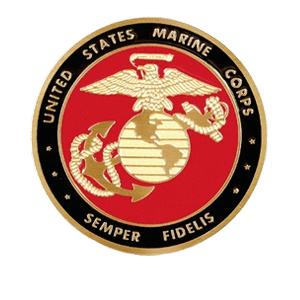 US Marine Corp. Medallion Appliques