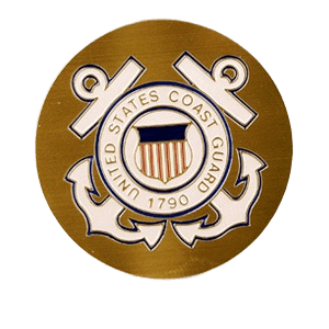 US Coast Guard Medallion Appliques