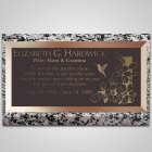 Hummingbird Bronze Plaque