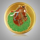 Winning Horse Medallion Appliques