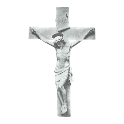 Crucifixion Marble Statue