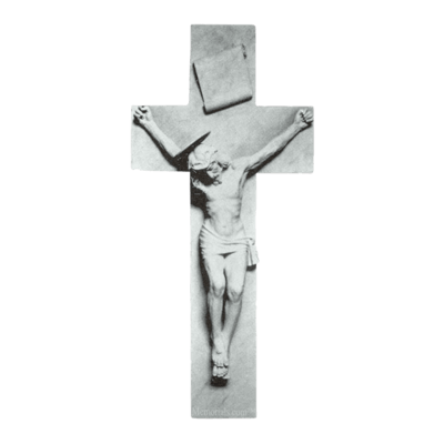 Crucifixion Of Jesus Marble Statue
