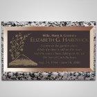 Hawaiian Islands Bronze Plaque