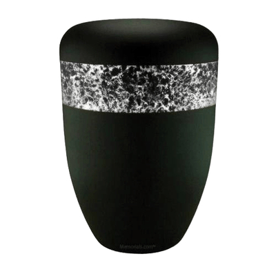 Speckled White Biodegradable Urn