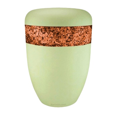 Snakeskin Orange Biodegradable Urn