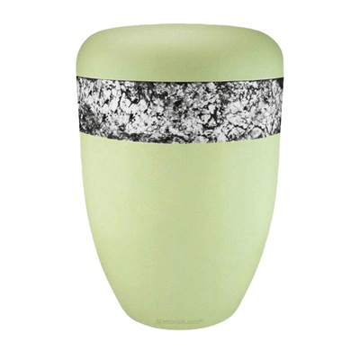 Snakeskin White Biodegradable Urn