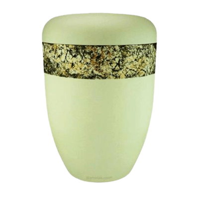 Snakeskin Neutral Biodegradable Urn