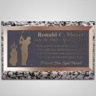 Front Nine Bronze Plaque