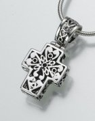 Filigree Cross Pet Memorial Jewelry III