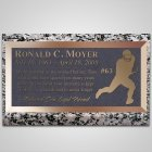 Touchdown Bronze Plaque