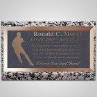 Basketball Bronze Plaque