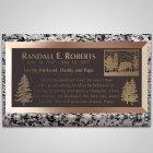 Hillside Bronze Plaque