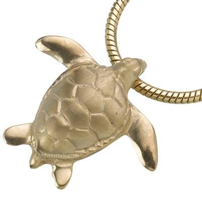 Turtle Cremation Jewelry IV