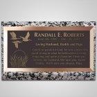 Marshlands Bronze Plaque