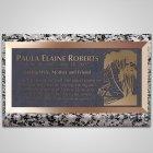 Forest Bronze Plaque