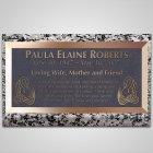 Swans Bronze Plaque