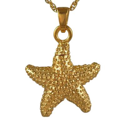 Star Fish Cremation Jewelry II