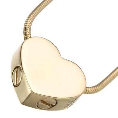 Slider Companion Heart Keepsake Pendant IV