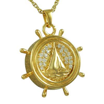 Boat Wheel Keepsake Jewelry IV