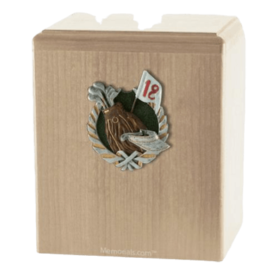 18th Hole Maple Cremation Urn