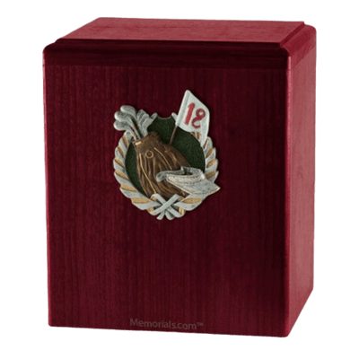 18th Hole Rosewood Cremation Urn