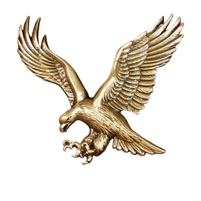 American Eagle Medallion Appliques
