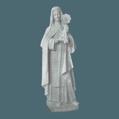 St. Clara Granite Statue