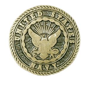 Navy Medallion Appliques