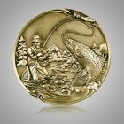Fisherman Coin Medallion Appliques