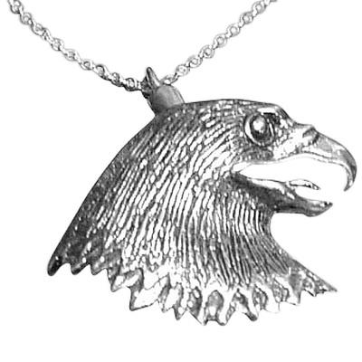 Eagle Cremation Jewelry III
