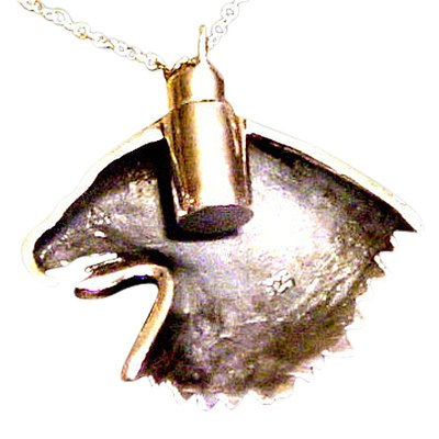 Eagle Cremation Jewelry IV