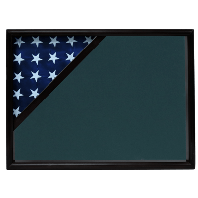 Black Flag Shadow Box Display Case