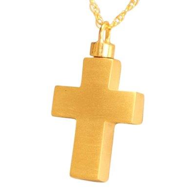 Large Eternity Cross Cremation Jewelry II