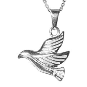 Flying Dove Cremation Jewelry III