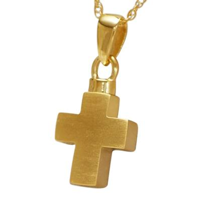 Infinity Cross Cremation Jewelry II