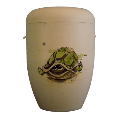 Turtle Shell Biodegradable Urn