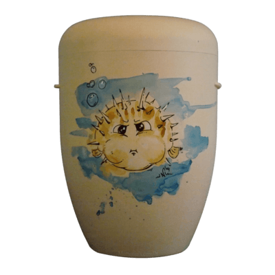 Pufferfish Biodegradable Urn