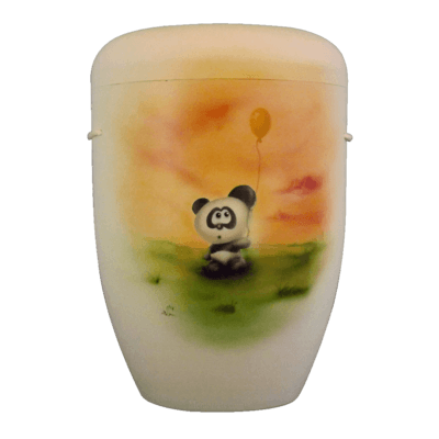 Baby Panda Biodegradable Urn