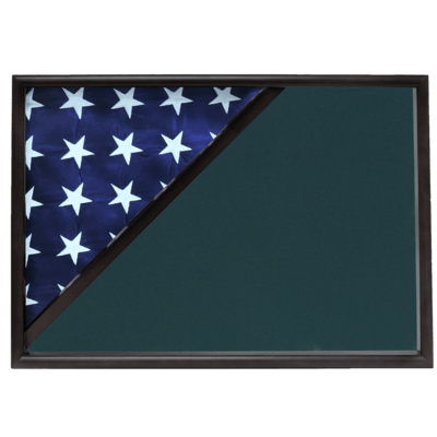 Black Memorial Shadow Box Display Case