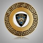NY Police Medallion Appliques