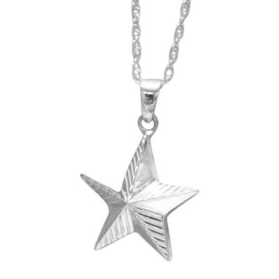 Star Keepsake Pendant