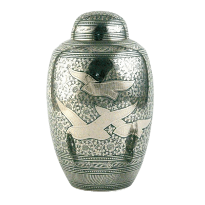 Loving Doves Cremation Urn